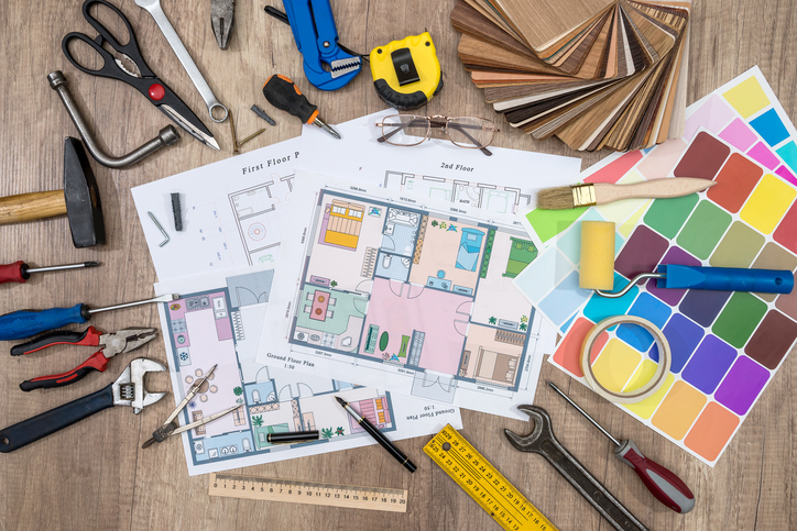 house plan with working tools. Upgrading Your HVAC System.