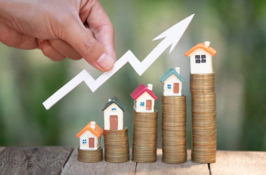 Raise Home Value Goes Up Imagery